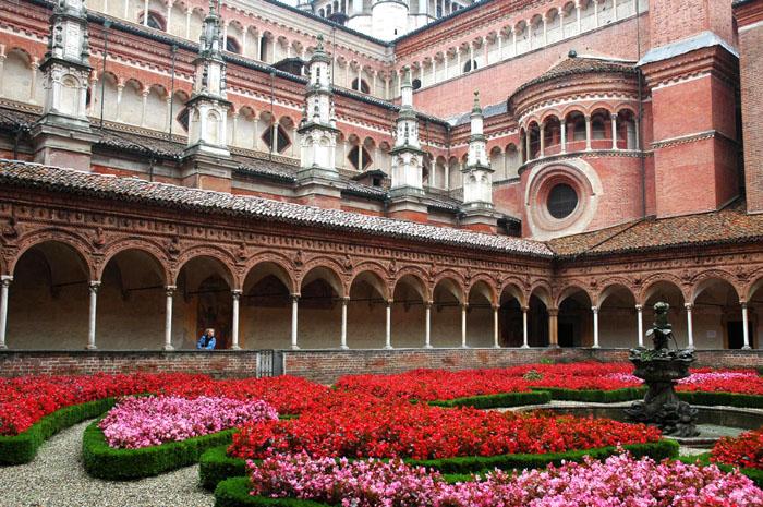 Certosa di Pavia - niezwykły klasztor Cystersów