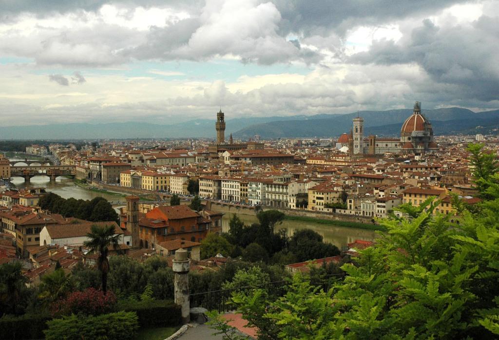 Florencja widziana z Piazzale Michelangelo