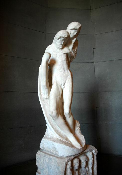 Randanini Pieta, przy rzeźbieniu której zmarł Michał Anioł