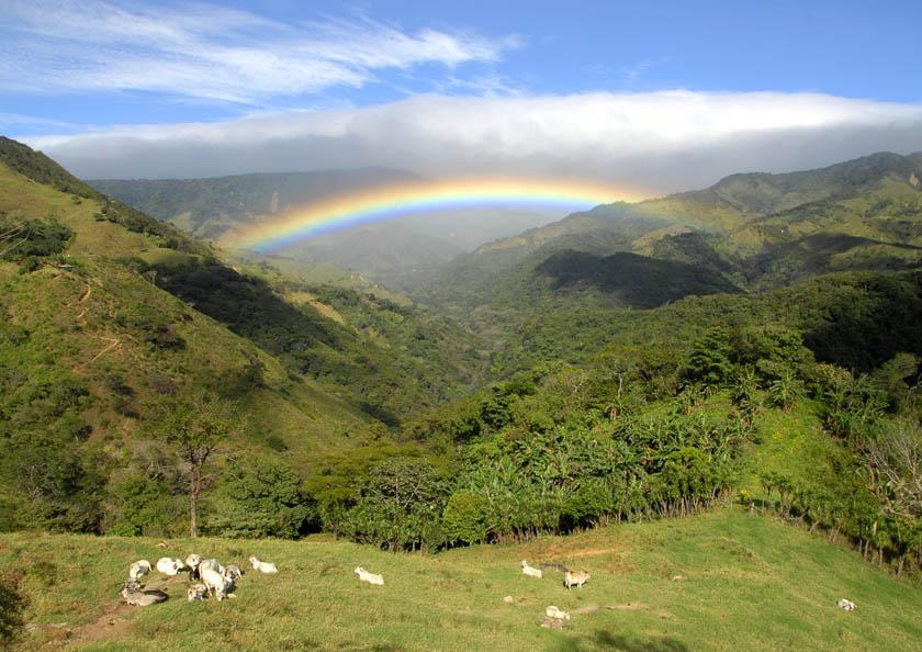 Tęcza nad Monteverde