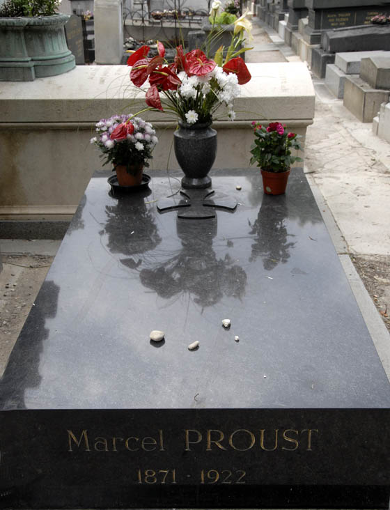 Skromny nagrobek genialnego Prousta