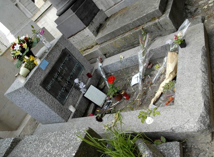 Jim Morrison - grób jako obiekt (pop)kultu