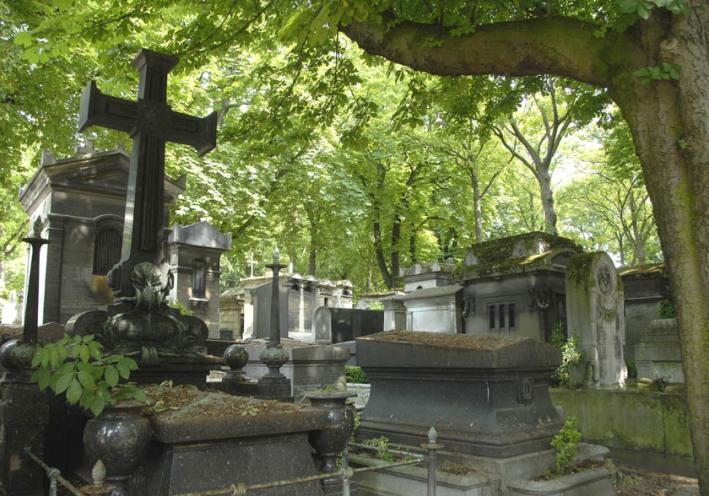 Nawet cmentarz może być malowniczy