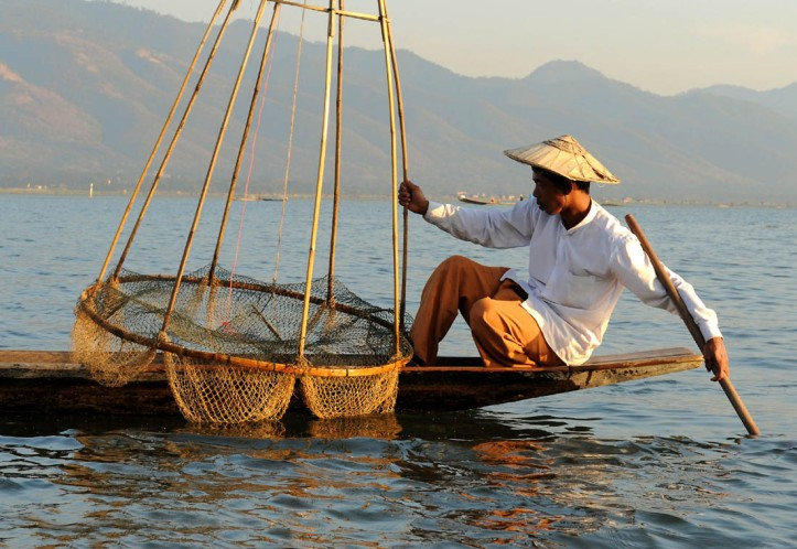 Fishermen of Inle Lake (2)a