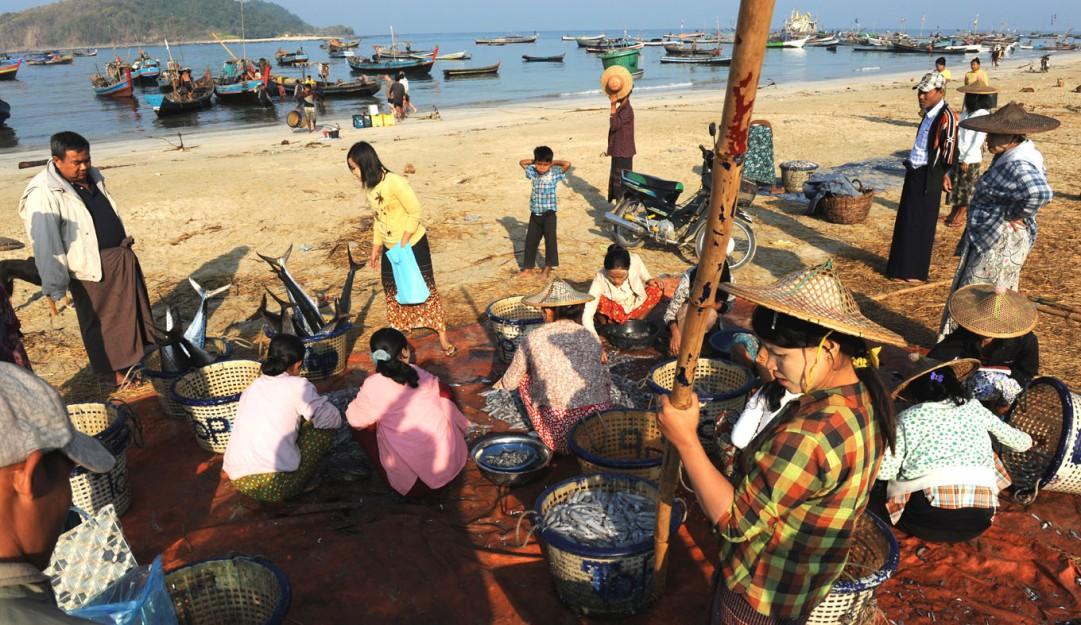 wioska rybacka - Birma fot. Stanislaw Blaszczyna (11)