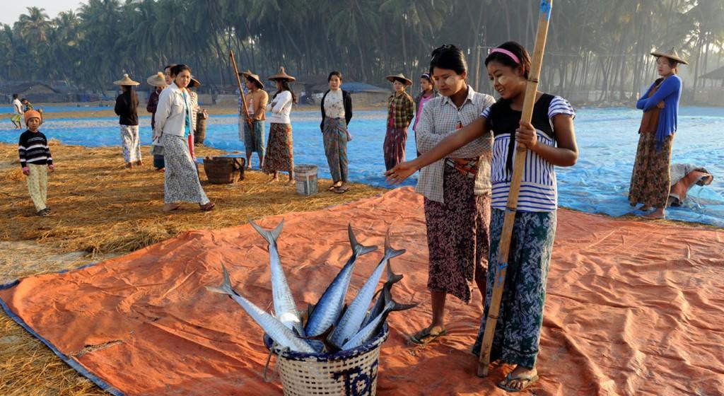 wioska rybacka - Birma fot. Stanislaw Blaszczyna (3)