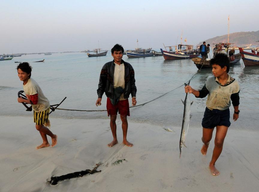 wioska rybacka - Birma fot. Stanislaw Blaszczyna (41)