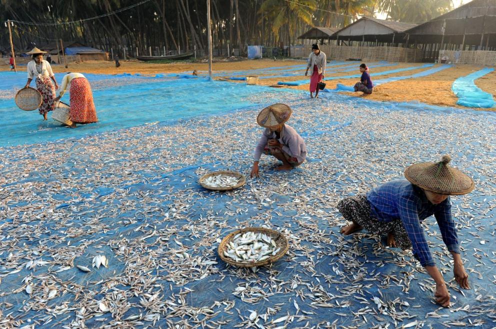 wioska rybacka - Birma fot. Stanislaw Blaszczyna (44)