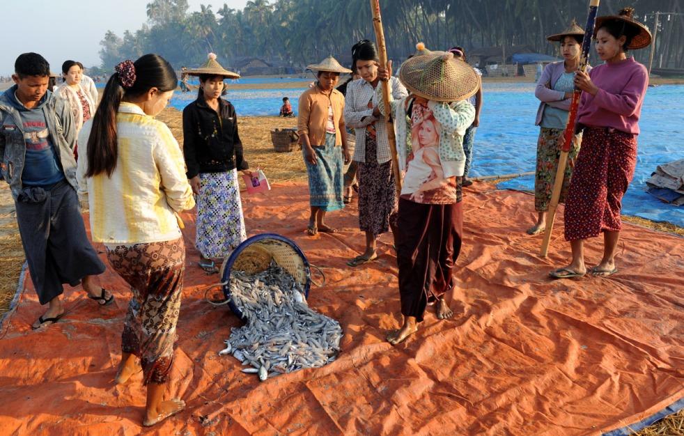 wioska rybacka - Birma fot. Stanislaw Blaszczyna