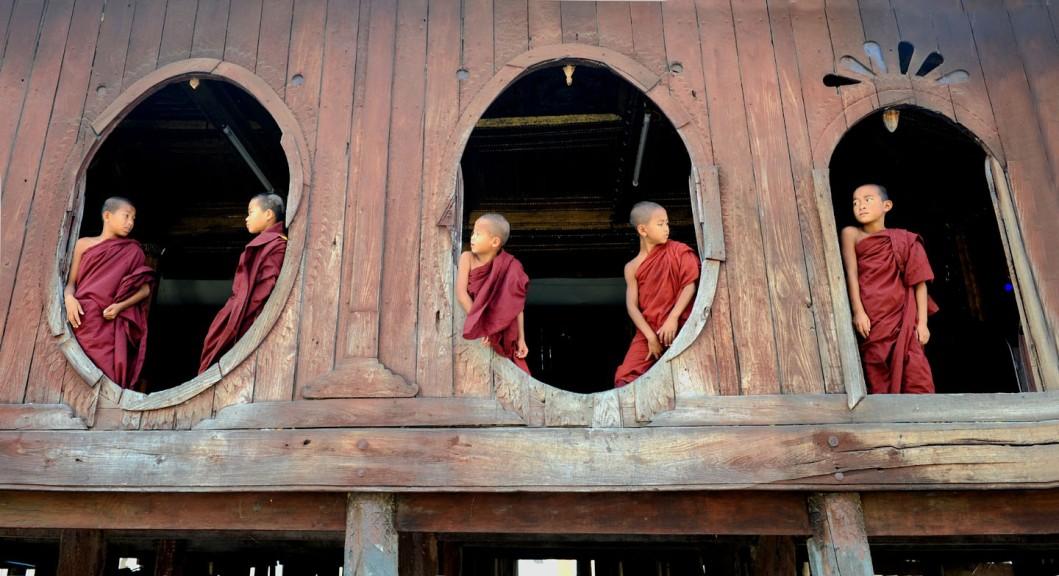 Shwe Yan Pyay Monastery - Birma. fot. St. Błaszczyna) (30)